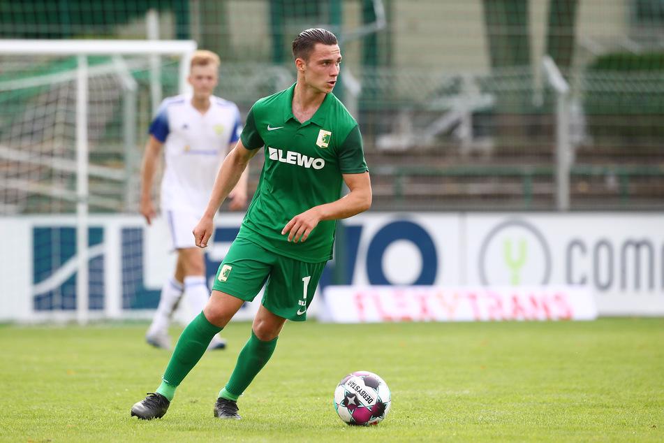 Lucas Surek (23) verlängerte seinen Vertrag in Leipzig bis 2023.