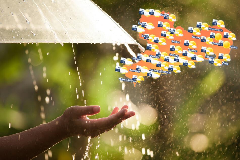 Sachsenwetter: Sommergewitter sorgen weiter für unbeständige Tage