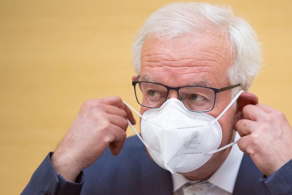 Thomas Kreuzer (61), Fraktionsvorsitzender der CSU im Bayerischen Landtag.