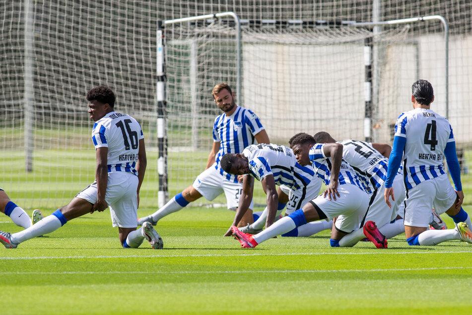 Am Dienstag startete Hertha BSC ins Training.