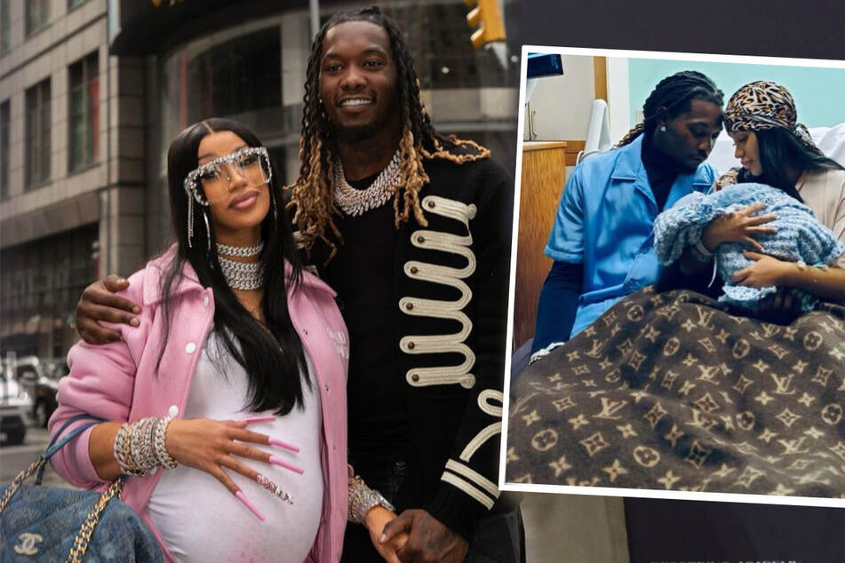 Cardi B and Offset have become parents again!