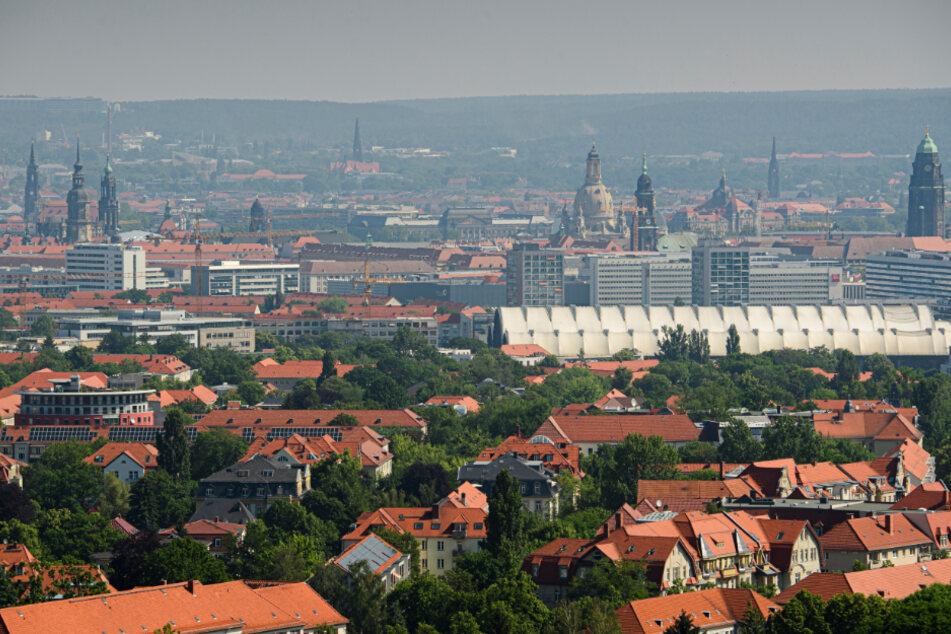 Dresden im Sommer.