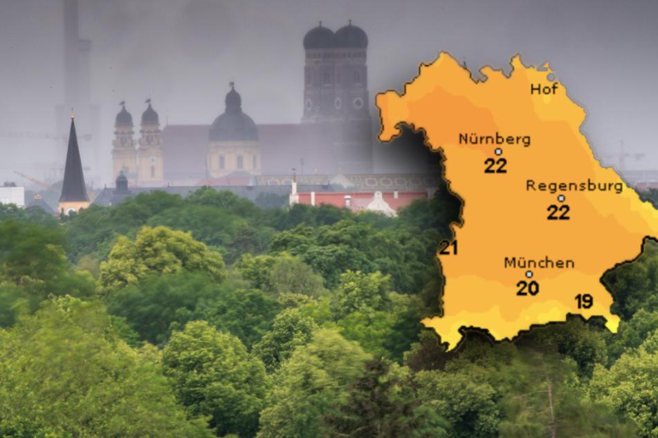 Regen oder Sonnenschein? So wird das Wetter zum Wochenende in Bayern