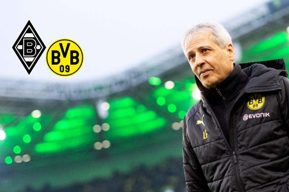 """BVB-Coach Favre zu Rudelbildung bei Gladbach: """"Wir müssen die Nerven kontrollieren""""!"""
