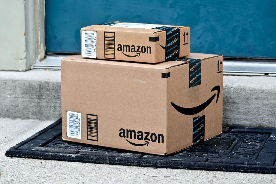 Amazon has seen a dramatic increase in sales during the coronavirus pandemic (stock image).