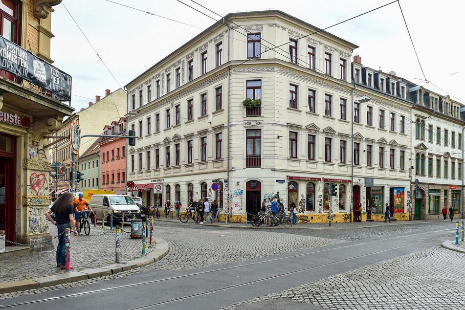 Die Tat geschah an der Louisenstraße Ecke Görlitzer Straße.