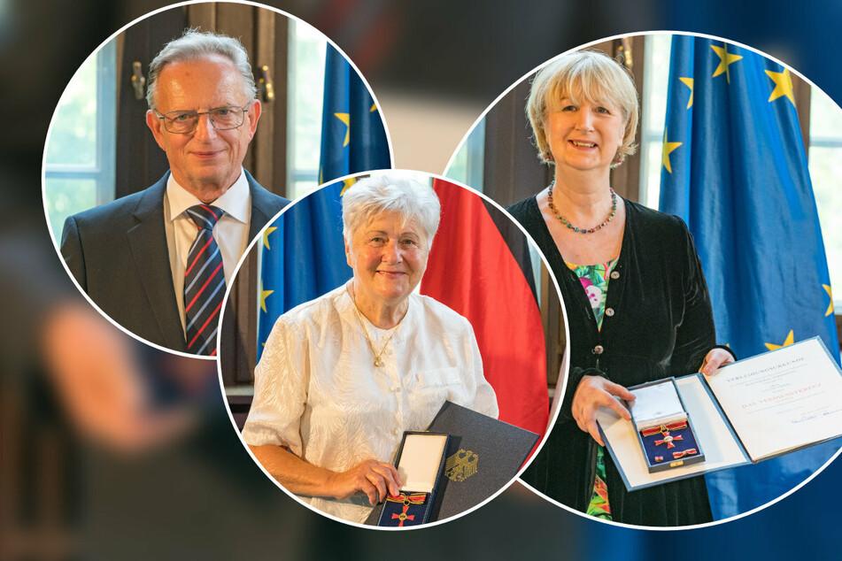 Besondere Ehre: Drei Sachsen erhalten einen Orden von MP Kretschmer!