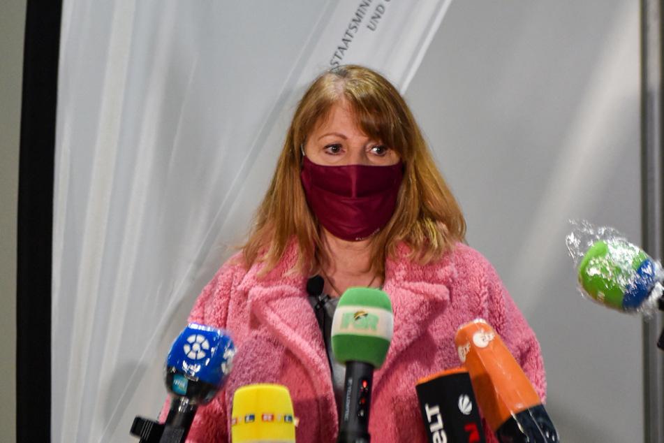 Erleichtert: Gesundheitsministerin Petra Köpping (62, SPD).
