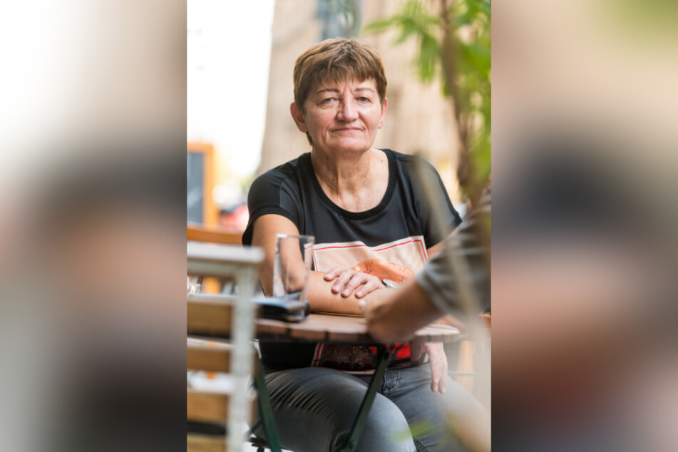 """""""Wir sind privilegiert."""": Cornelia Ernst (62, Die Linke), sächsische EU-Parlamentarierin, nach ihrer Rückkehr von der griechischen Insel Lesbos am Dienstag in Dresden."""