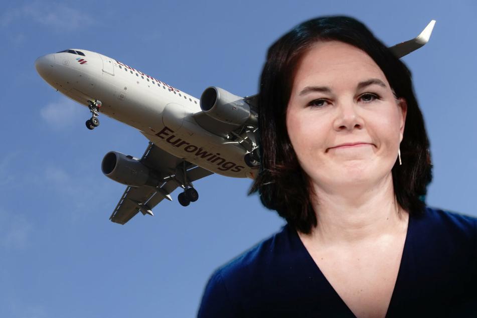 Grünen-Baerbock will das Aus für Kurzstreckenflüge: Jetzt spricht die Union Klartext!
