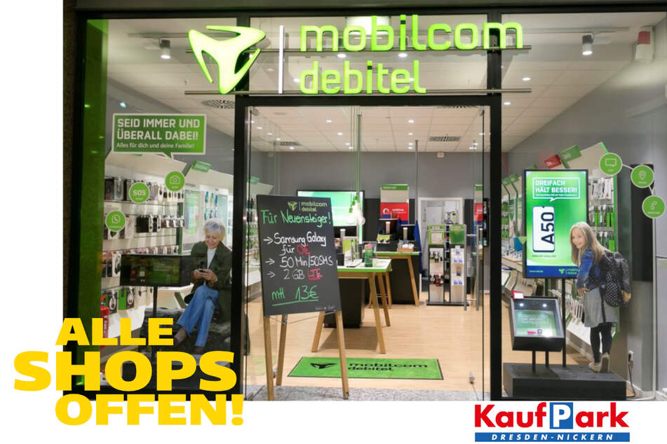 KaufPark Dresden hat wieder ohne Einschränkungen für Euch geöffnet