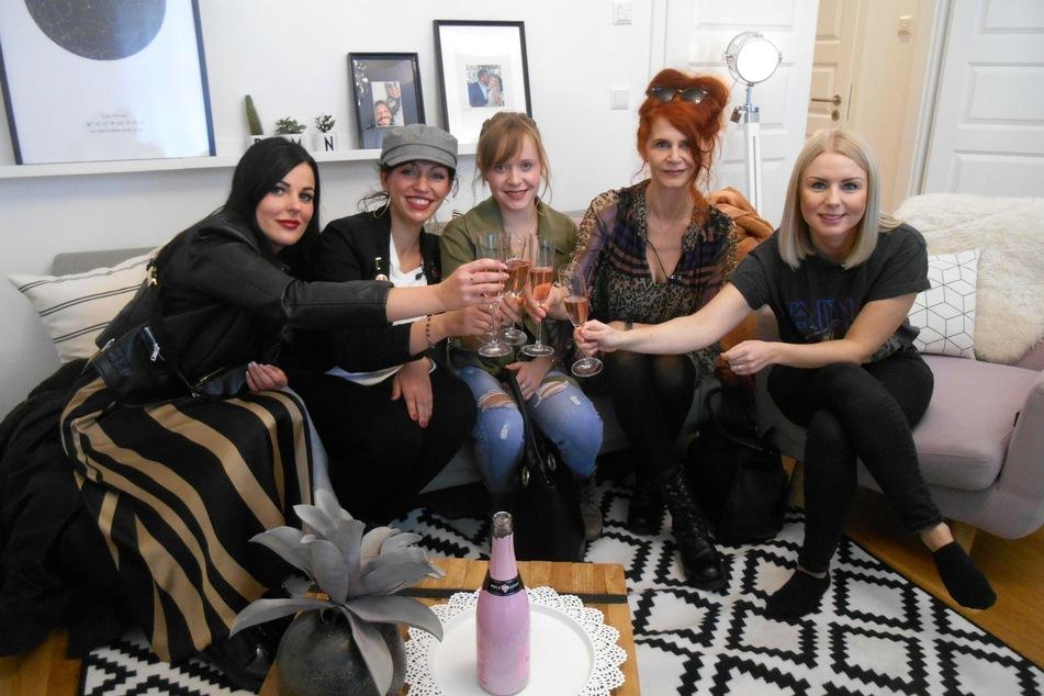 Die Leipzig-Kandidatinnen in dieser Woche:Susann, Tania, Judith, Greta und Saskia.