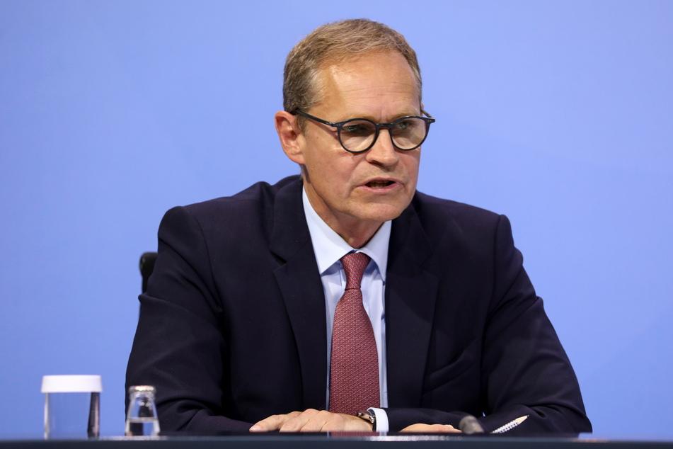 Michael Müller (56, SPD), Regierender Bürgermeister von Berlin.