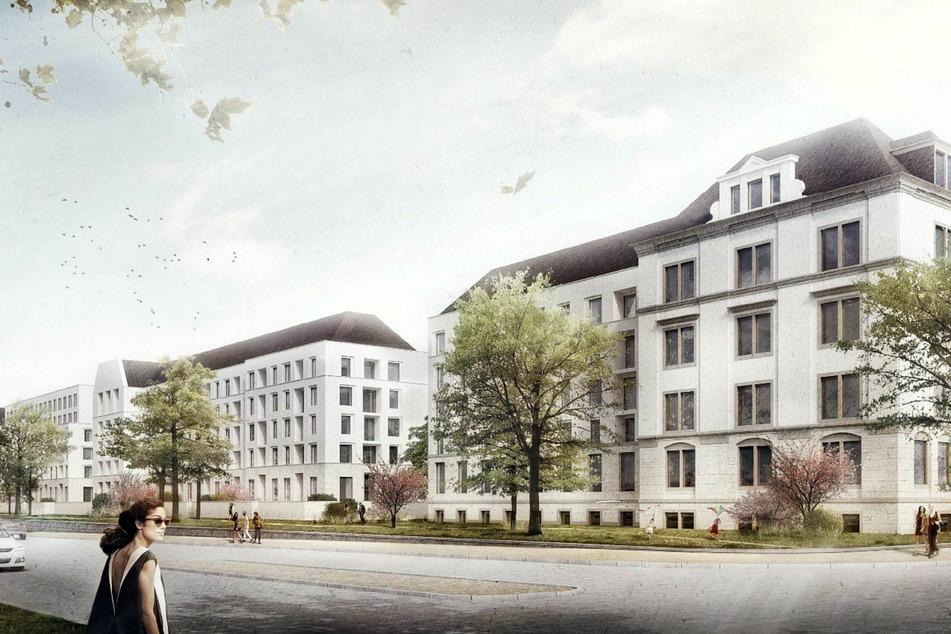 Dieses neue Wohngebiet entsteht gerade an der Stauffenbergallee.