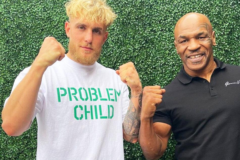"""Mike Tyson will mit Jake Paul in den Ring steigen: """"Es ist ihm egal, verprügelt zu werden"""""""