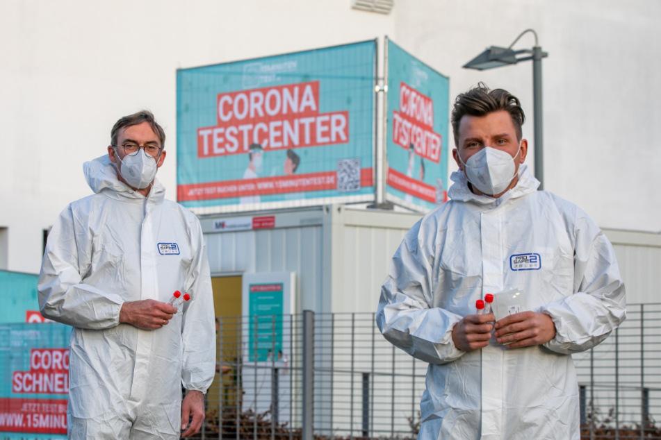 Hier gibt's den Corona-Schnelltest: Nach 15 Minuten wisst Ihr Bescheid
