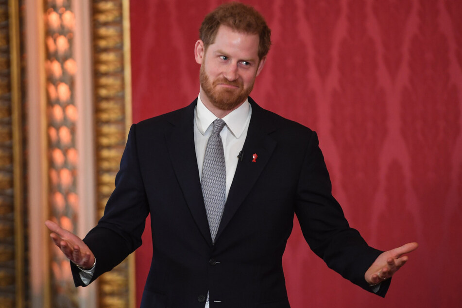 """Der britische Prinz Harry (35) äußerte sich bei der Verleihung der nach seiner Mutter benannten """"Diana Awards"""". (Archiv)"""