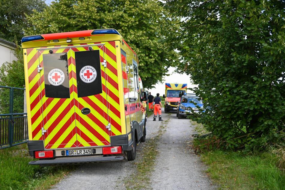 Der Unfall geschah zwischen Kottmarsdorf und Dürrhennersdorf.