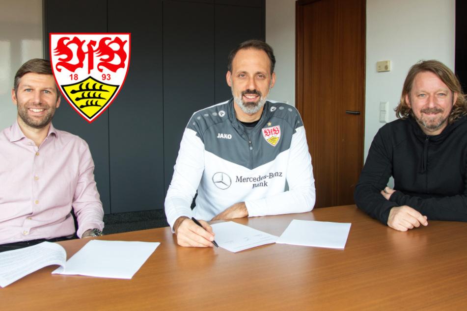 VfB verlängert Vertrag von Cheftrainer Matarazzo vorzeitig!