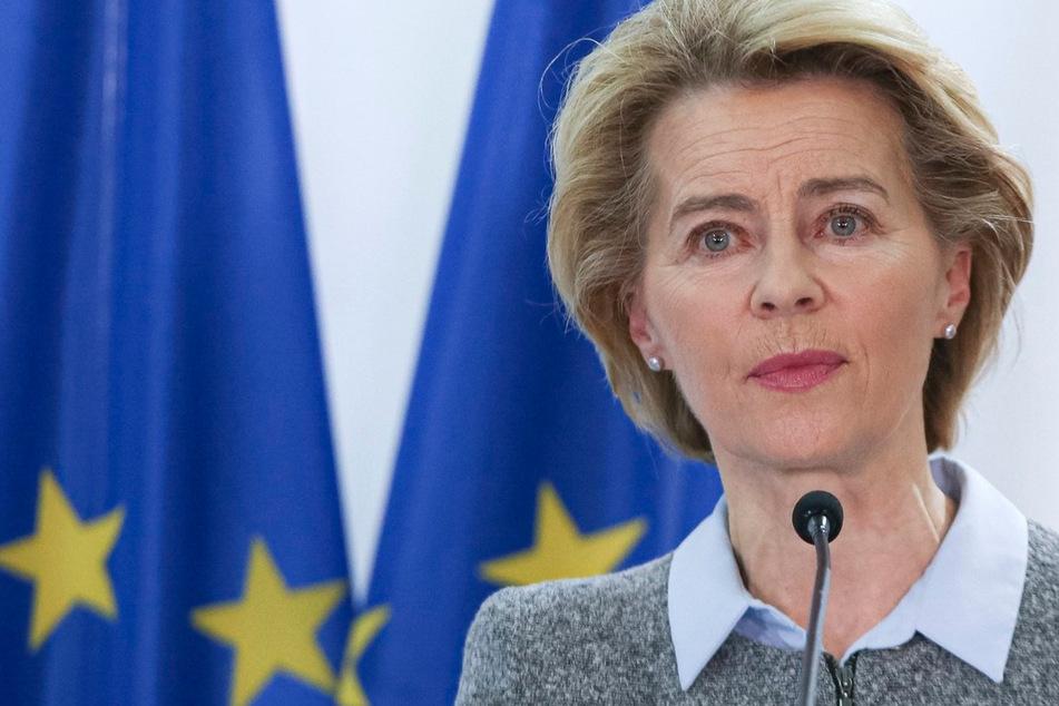 EU-Kommissionschefin Ursula von der Leyen (61). (Archivbild)