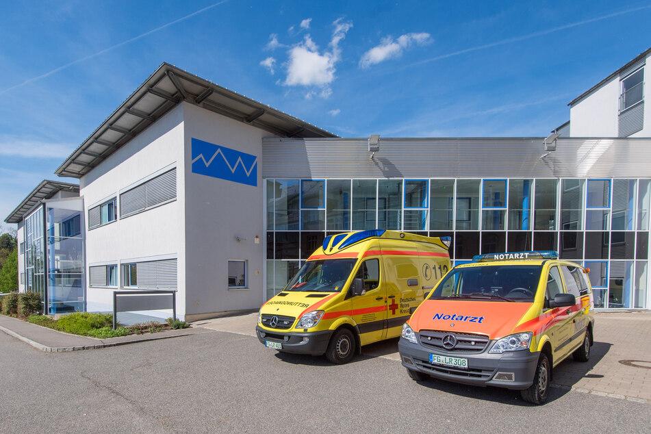 Das Krankenhaus in Mittweida hat am Dienstag einen Förderbescheid von 21 Millionen Euro erhalten. (Archivbild)