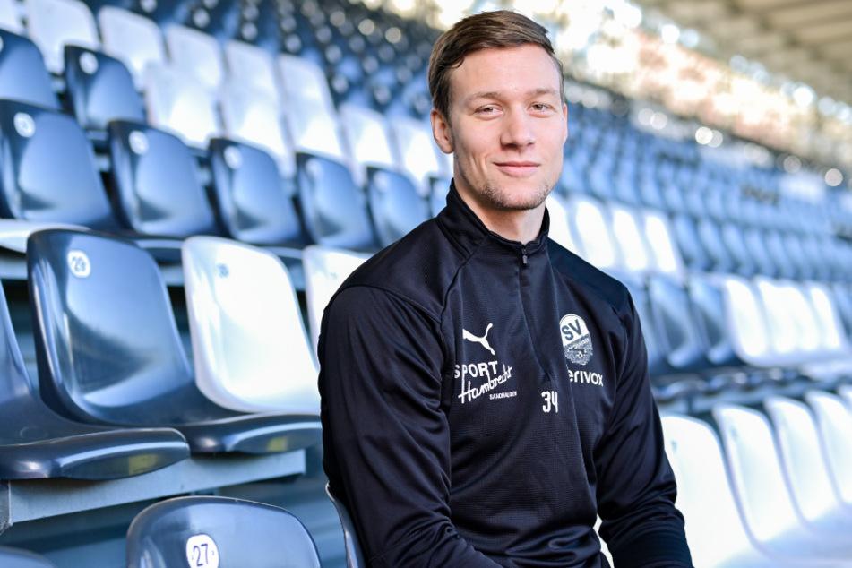 Tim Knipping (27) läuft künftig für die SG Dynamo Dresden auf.