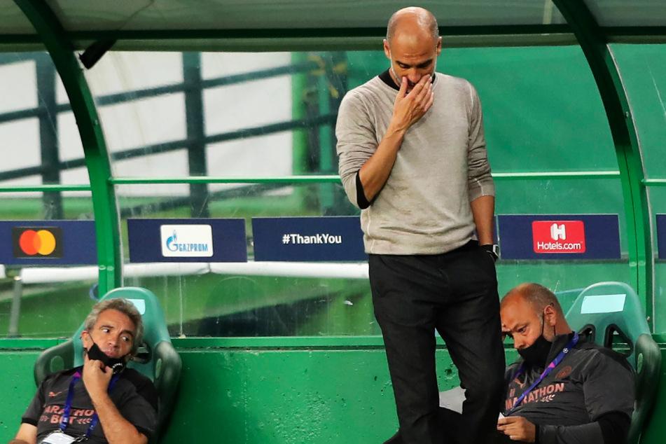 Pep Guardiola (49) verpasste mit Manchester City das vierte Jahr in Folge den Sprung ins Champions-League-Halbfinale.