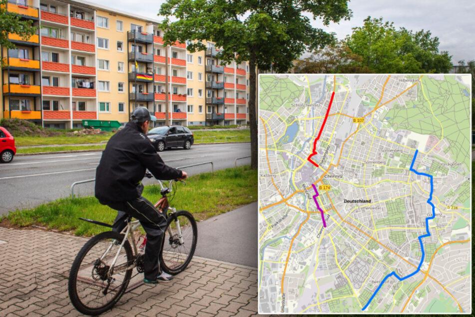 Für Fußgänger und Radfahrer: TU-Forscher suchen die perfekte Route durch Chemnitz