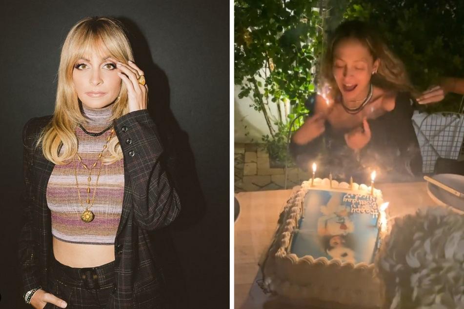It-Girl Nicole Richie: Ihr 40. Geburtstag wurde feuriger als erwartet.