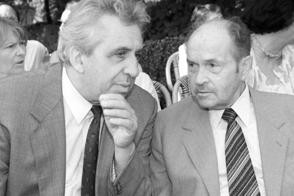 Langjähriger DDR-Außenminister Oskar Fischer (†97) ist tot