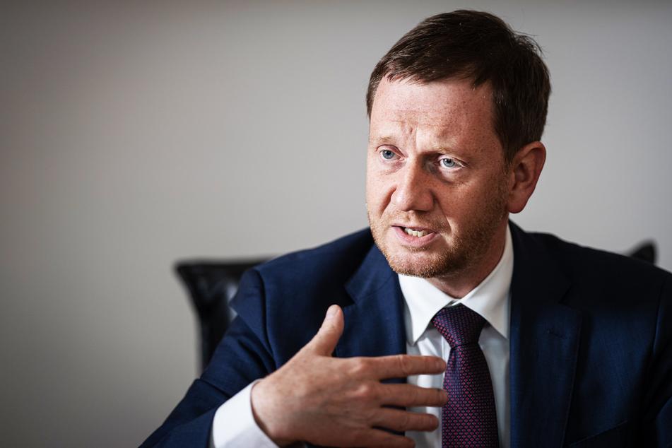 Sachsens Ministerpräsident Michael Kretschmer.