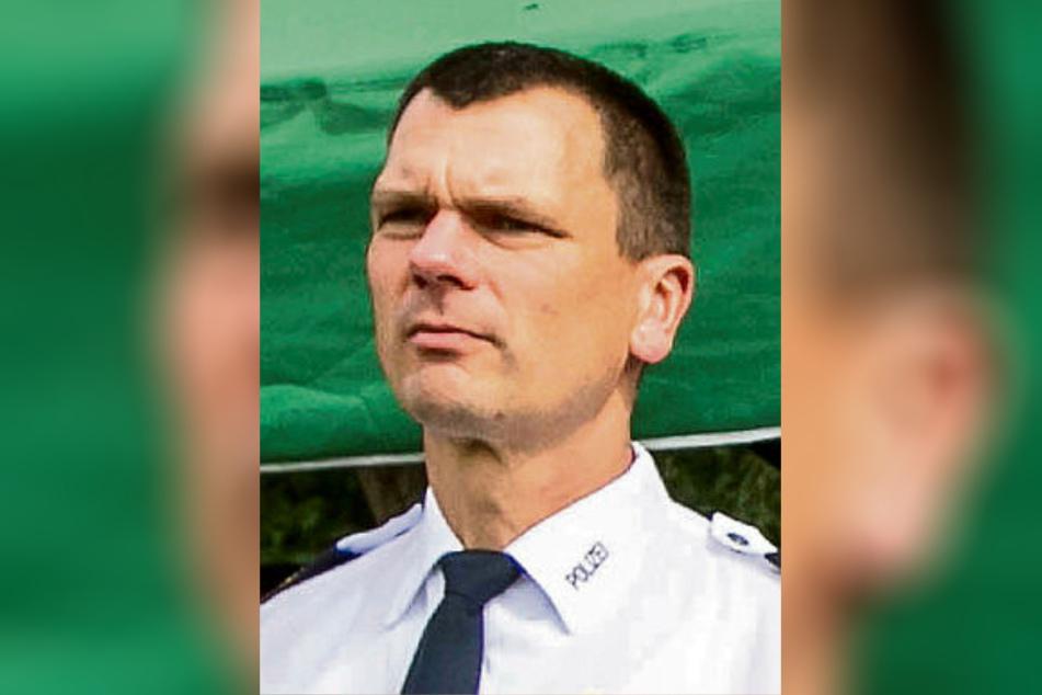 Wollte die Sicherheitsverstöße offenbar unter der Decke halten: Dirk Lichtenberger (50), Chef der sächsischen Bereitschaftspolizei.