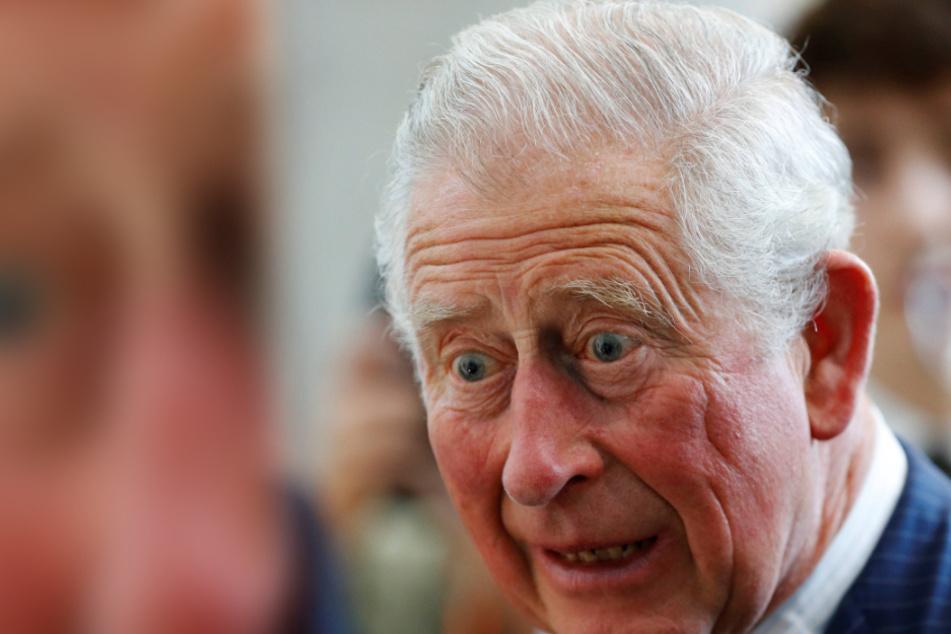 Schock-Moment für Prinz Charles bei öffentlichem Auftritt