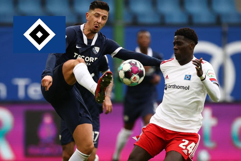 HSV bleibt gegen starken VfL Bochum nahezu chancenlos und kassiert bittere Heimpleite!