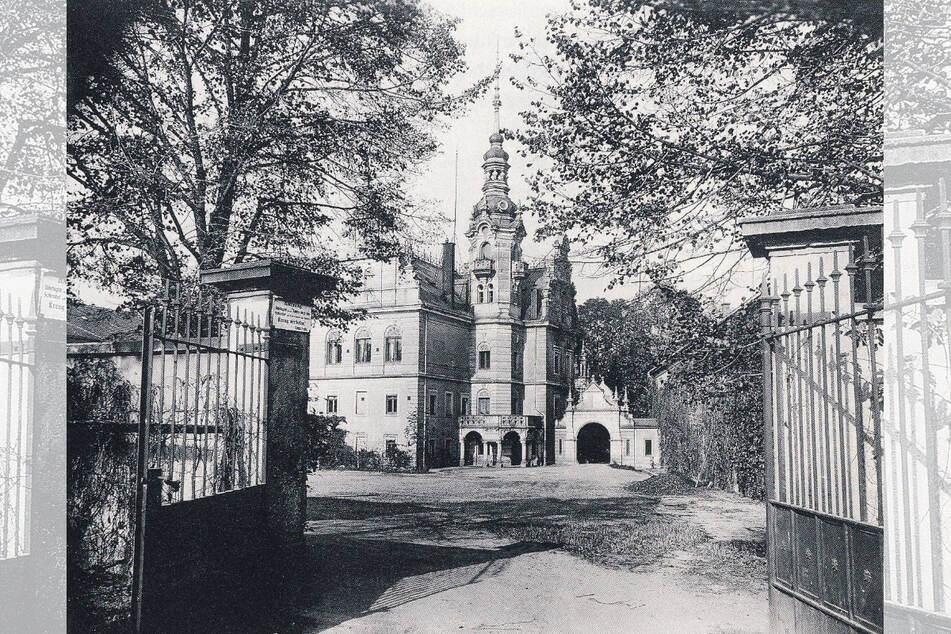 Das Anwesen um 1930.
