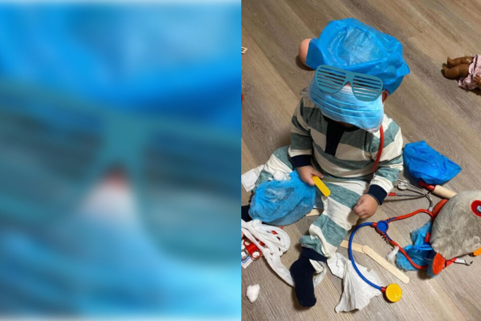 Hamburg: Traumberuf dank Coronavirus gefunden: Welches Promikind versteckt sich denn hier?