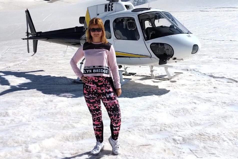 Auch ein Hubschrauberflug gehörte zum Neuseelandurlaub dazu. Doch wann kommt der Heimflug?