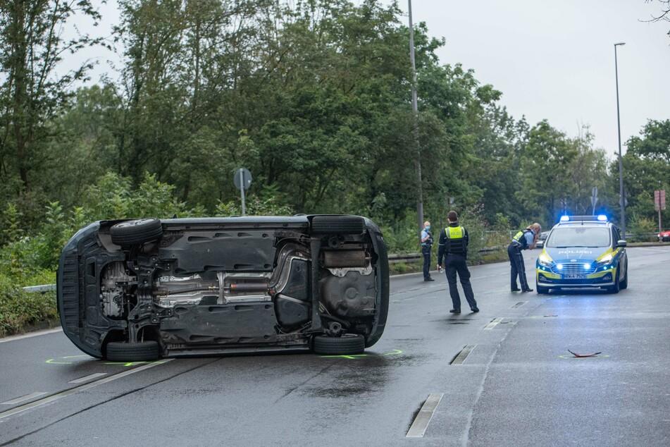 Der Skoda-Fahrer stand während der Verfolgungsfahrt offenbar unter Drogen.