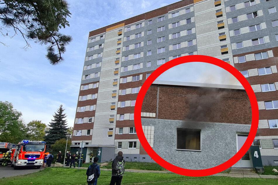 Im obersten Stockwerk war das Feuer ausgebrochen.