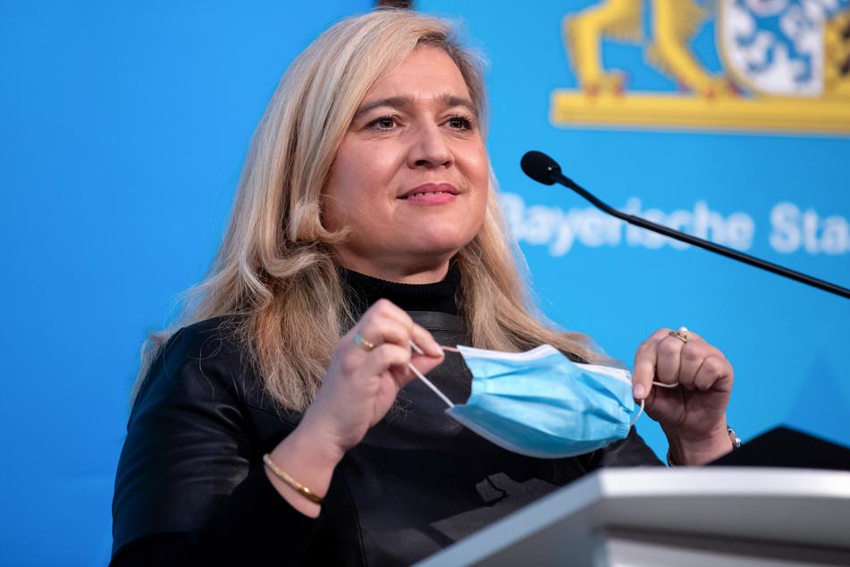 Melanie Huml (CSU), Gesundheitsministerin von Bayern.