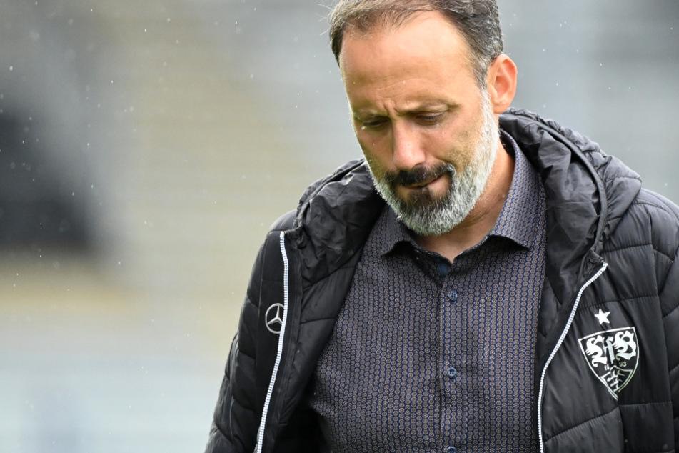 Will im Aufstiegskampf Ruhe bewahren: VfB-Trainer Pellegrino Matarazzo (42).