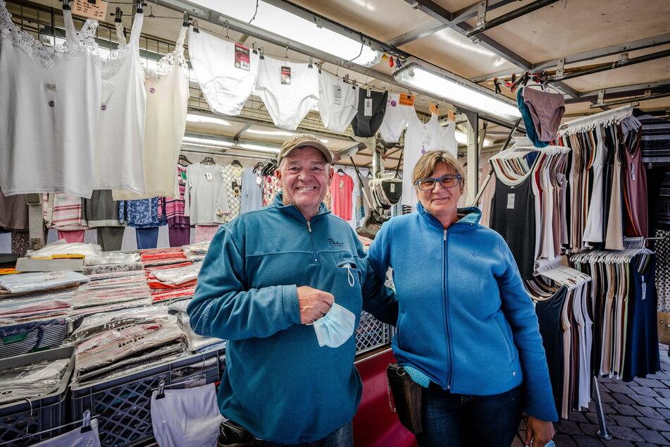 Manfred Wimmert (59) und Ehefrau Angelika (57) blicken positiv in die Zukunft.