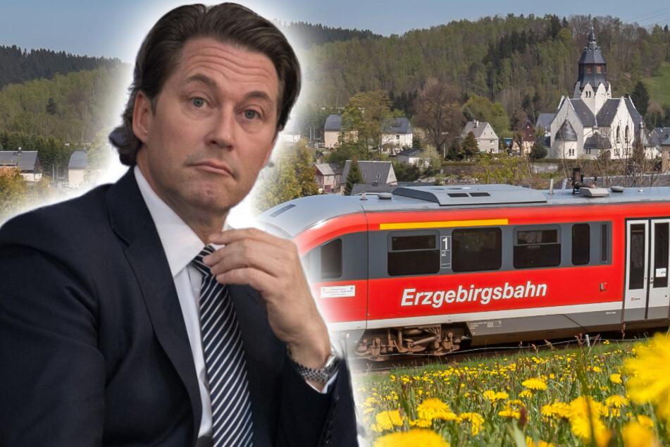 """Für besseres Netz im Zug: """"Digitales Testfeld"""" im Erzgebirge entsteht"""