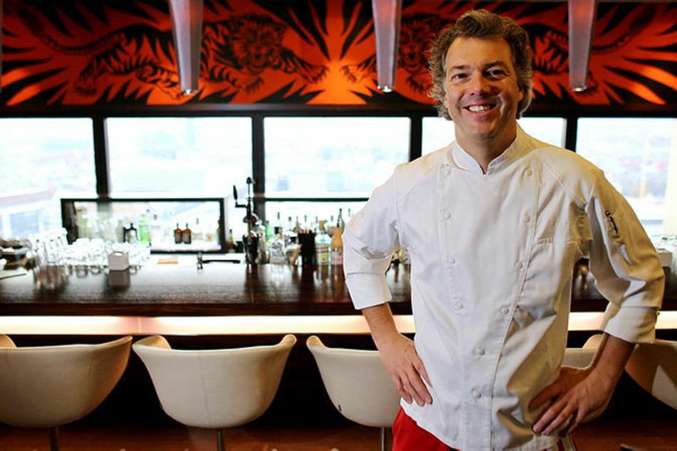 """""""Falco""""-Küchenchef Peter Maria Schnurr (52) kochte auch schon für Stars wie George Clooney (60) oder Nico Rosberg (36)."""