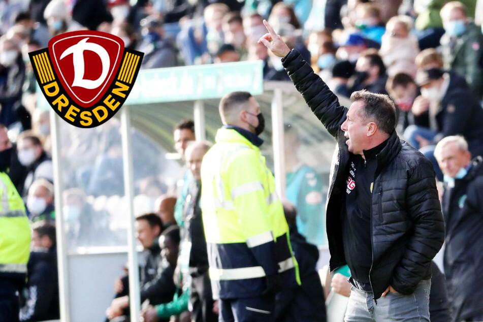 Dynamo-Spiel gegen Lübeck findet statt, Trainer Kauczinski geht locker mit den Widrigkeiten um