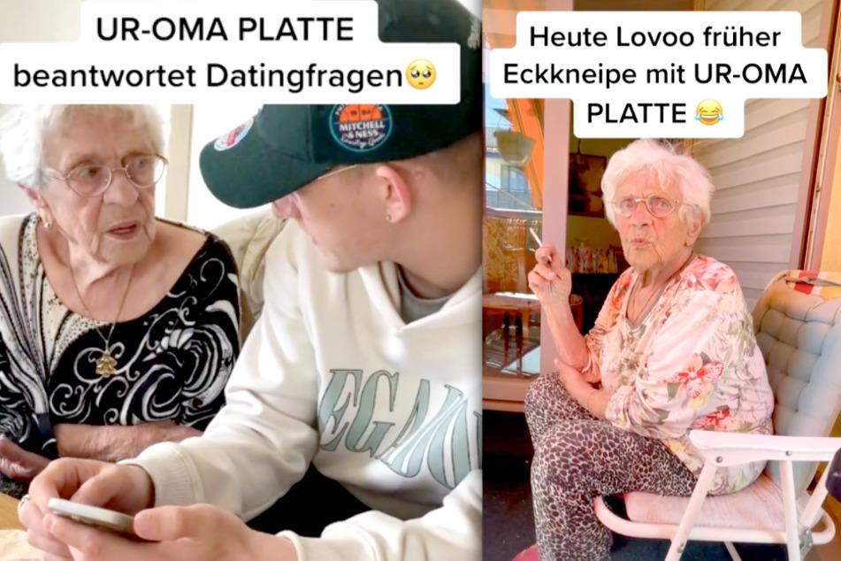Auch in Liebesfragen kann sich ihr Ur-Enkel auf die 94-Jährige verlassen.