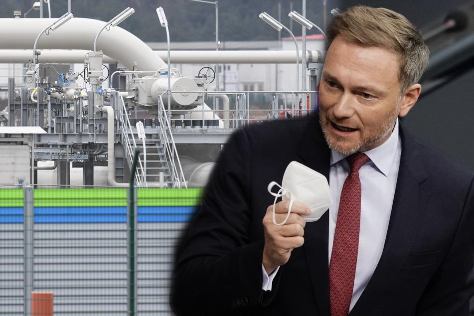 Verletzung der Menschenrechte: FDP-Chef Lindner fordert Aufschub für Nord Stream 2