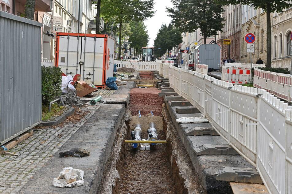 In der Zietenstraße wurde eine frisch sanierte Straße erneut aufgerissen - wegen mangelnder Koordination, moniert die FDP.