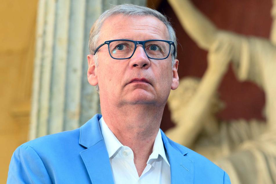 Günther Jauch steht im September 2020 bei einer Spendenaktion im Park Sanssouci. Der TV-Moderator zeigte sich überrascht von den vielen Hass- und Drohbriefen, die er nach der Teilnahme an einer Impfkampagne der Bundesregierung erhielt.