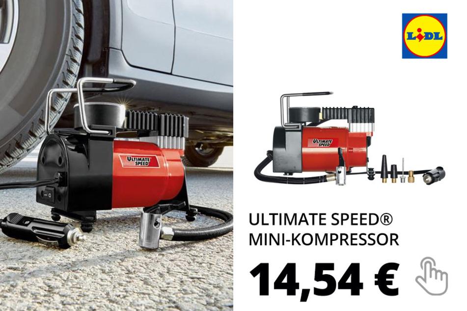 ULTIMATE SPEED® Mini-Kompressor »UMK 10 C2«